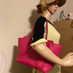 Gucci swing hot pink shoulder bag